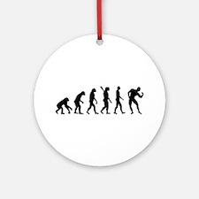 Evolution Bodybuilding Ornament (Round)