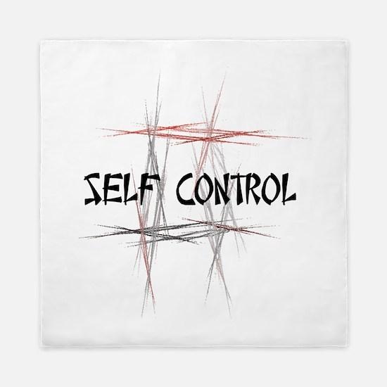 Martial Arts Self Control Queen Duvet