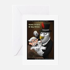 Voo Doo Chickens Of New Orleans Greeting Cards (Pk