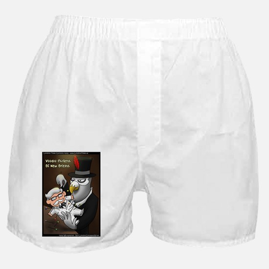 Voo Doo Chickens Of New Orleans Boxer Shorts