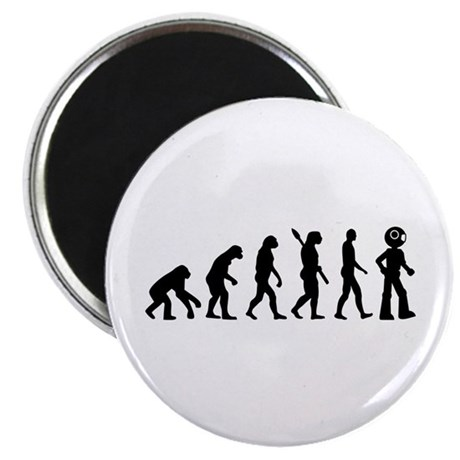 "Evolution Robot 2.25"" Magnet (100 pack)"