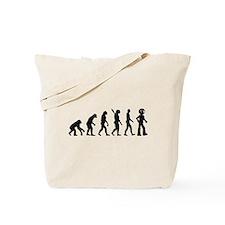 Evolution Robot Tote Bag