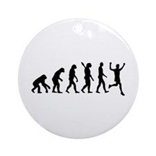 Evolution running Ornament (Round)