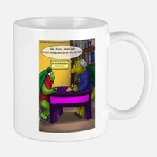 Turtle In Therapy Small Small Mug