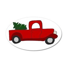 Red Truck Wall Decal