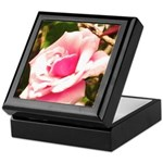 Pink Plantation Rose Keepsake Box