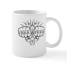 Free Hugs Knuckle Tattoo Mug