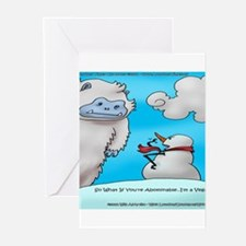 Vegam Snowman Greeting Cards (Pk of 20)