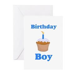 Birthday Boy shirt.png Greeting Cards (Pk of 10)