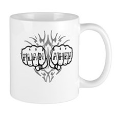 Plan Ahea Knuckle Tattoo Mug