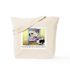 Pasteur Bedtime 4 Baby Cows Tote Bag