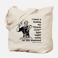 Check Liver - M Tote Bag
