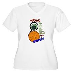 OYOOS Cry Baby design Jr. Ringer T-Shirt