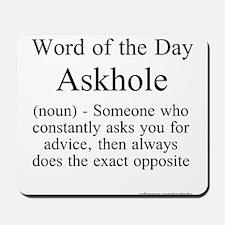 Askhole Mousepad