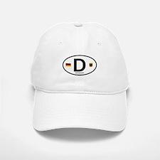 Germany Euro Oval Baseball Baseball Cap