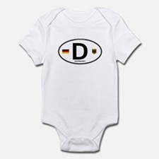 Germany Euro Oval Infant Bodysuit