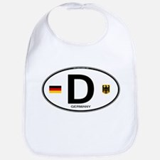 Germany Euro Oval Bib