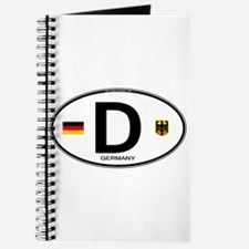 Germany Euro Oval Journal