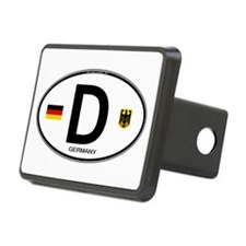 Germany Euro Oval Hitch Cover