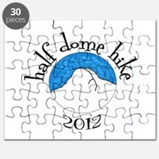 Half Dome Hike 2012 Colored Puzzle