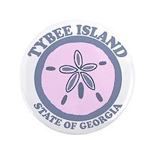 "Tybee Island GA - Sand Dollar Design. 3.5"" Bu"