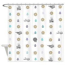 Sea and Beach Shower Curtain