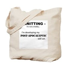 Knitting is not my hobby... Tote Bag
