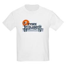 Tybee Island GA - Pier Design. T-Shirt