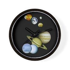 Planet Panorama Wall Clock