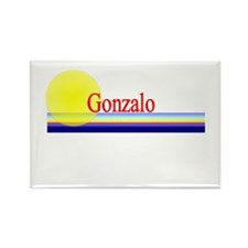 Gonzalo Rectangle Magnet