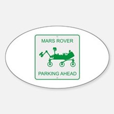 Mars Rover Parking Decal