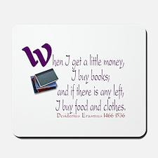 I Buy Books Mousepad