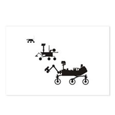 Mars Rovers Postcards (Package of 8)