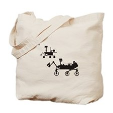 Mars Rovers Tote Bag