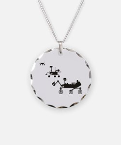 Mars Rovers Necklace