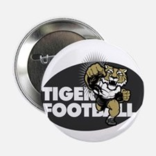"""Tiger Football 4 2.25"""" Button (10 pack)"""