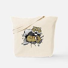 Tiger Football 5 Tote Bag