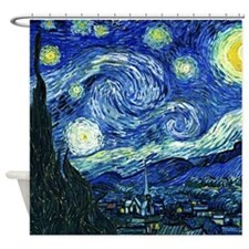 Van Gogh Starry Night Shower Curtain