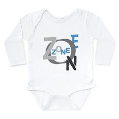 OYOOS Zone design Long Sleeve Infant Bodysuit