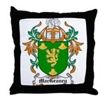 MacGraney Coat of Arms Throw Pillow