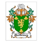 MacGraney Coat of Arms Small Poster