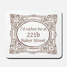 221b Baker Street Mousepad
