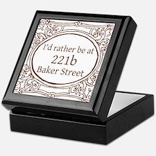 221b Baker Street Keepsake Box