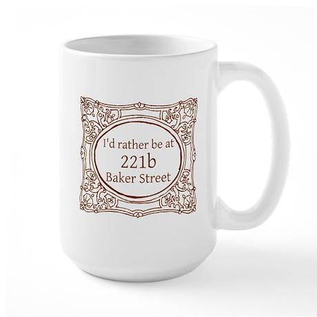 221b Baker Street Large Mug