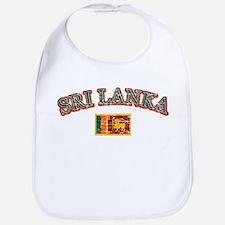 Sri Lanka Flag Designs Bib