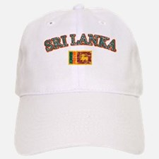 Sri Lanka Flag Designs Baseball Baseball Cap