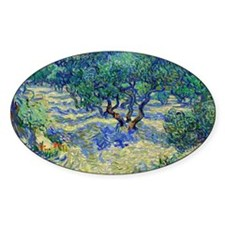Van Gogh - Olive Orchard Decal