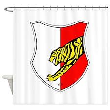 Panzerbataillon 63 Shower Curtain