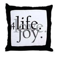 4Life.Love.Joy. OUtside the Box! Throw Pillow