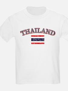 Thailand Flag Designs T-Shirt